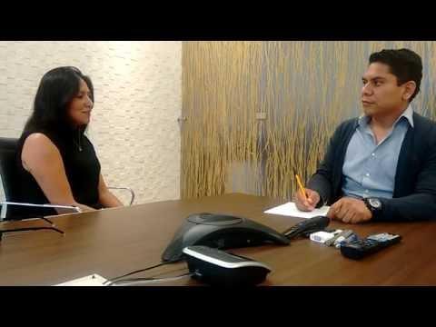 Ejemplo de entrevista de trabajo