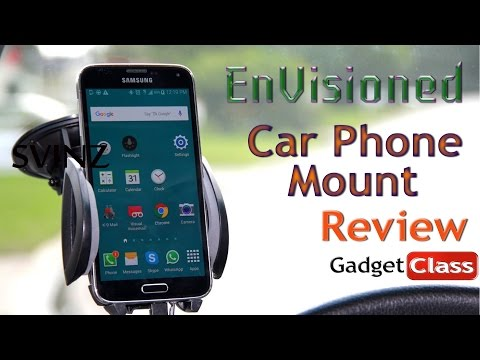 (:Review:) Envisioned Universal Car Suction Cup Mount ~ Dash or Windshield Adjustable Swivel Mount