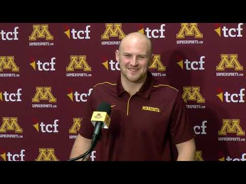 Gopher - VIDEO: Gophers QB Tanner Morgan previews Wisconsin game | #KFANGophers