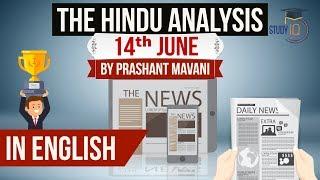 English 14 June 2018 - The Hindu Editorial News Paper Analysis - [UPSC/SSC/IBPS] Current affairs