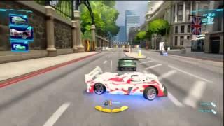 Cars 2: The Video Game - 2-Wheel Slalom Gameplay (Multi)