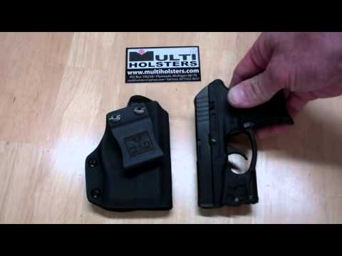 Viridian Reactor laser holster w/ECR by MULTI HOLSTERS - YouTube