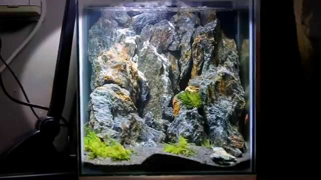 Misty Mountains Aquascape - YouTube