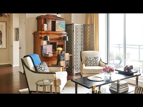 Interior Design — Tour An Elegant City Condo Filled With Art