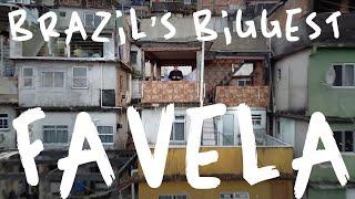 🇧🇷 Rocinha Favela - 24 Hours Inside Brazil's Biggest SLUMS!