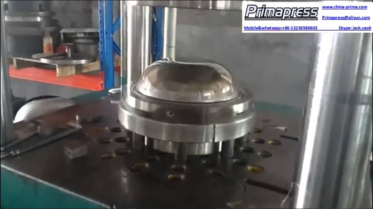 Cooking Ware Dish Hydraulic Press Machine Cookware Deep