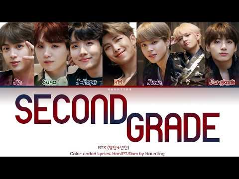 BTS (방탄소년단) – Second Grade (2학년) Color Coded Lyrics (Han/PT/Rom By Haunting)