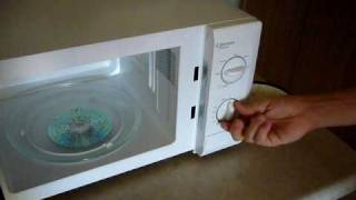 let s microwave a cd experiment 1