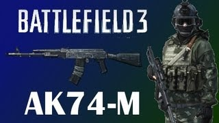 Underused Weapons - AK74M BF3 PC Gameplay