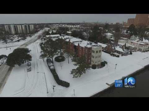 Hampton Roads working to recover from weekend winter storm