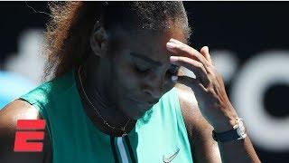 Serena Williams falls to Karolina Pliskova in three sets | 2019 Australian Open Highlights
