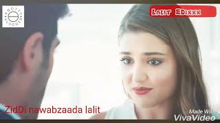 Tujhe chaha rab se bhi Jyada Neha kakkar Lalit EDixxx