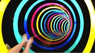 FALL INTO A BLACK HOLE MIND TRICK! (Best Illusions)