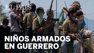 #MÉXICO | Niños armados en la sierra de #GUERRERO