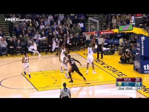 David West (Point-Center) 2016-17 Golden State Highlights