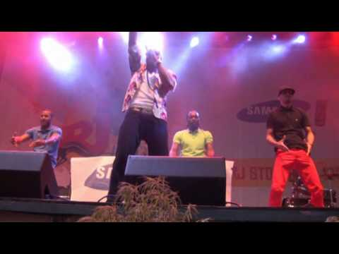 Mohombi - Bumpy Ride (Live at NRJ in the Park 2010 Stockholm)
