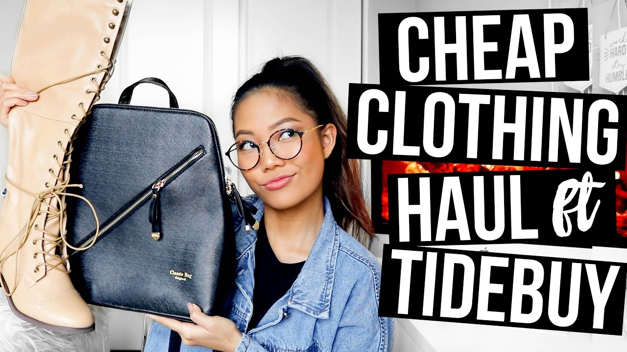 Cheap Online Clothing Haul 2017 || Farina Aguinaldo - YouTube