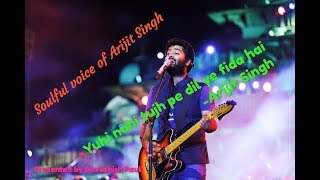 Yuhi nahi tujh pe dil ye fida hai full mp3 song by Arijit Singh in 1080p