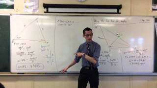 Using the Sine Rule to Find Angles (2 of 3: The Ambiguous Case)