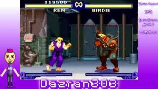 Street Fighter Alpha 2 Live Commentary Ken Playthrough (part 1/3) [wii Virtual Console]