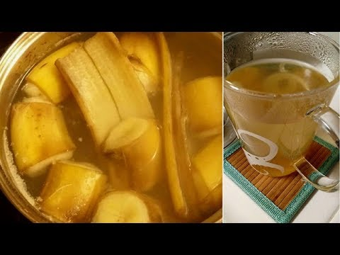 See What Happens If You Drink Banana Tea Before Bed