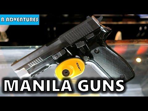 Guns Stores Makati Manila Philippines S4, Vlog 39