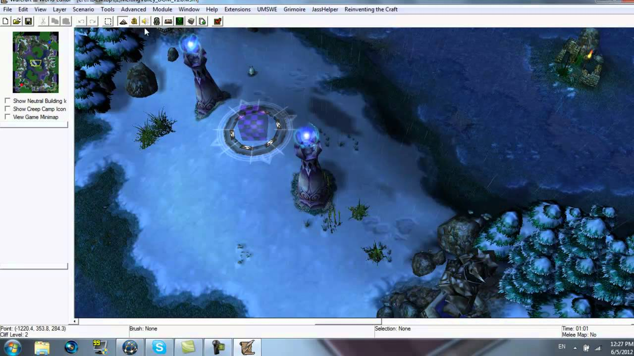 how to change the resolution in warcraft 3