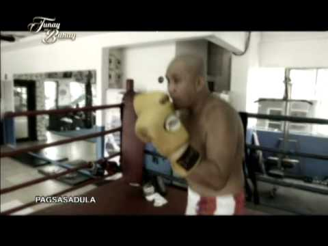 """Comedian Larry """"Pipoy"""" Silva's early years as an amateur boxer and politician 