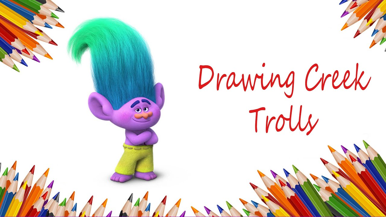 How to draw creek from trolls movie step by step cmo dibujar a how to draw creek from trolls movie step by step cmo dibujar a creek paso a paso youtube ccuart Gallery