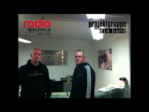 Projektgruppe Die Band - Interview bei Radio Bielefeld