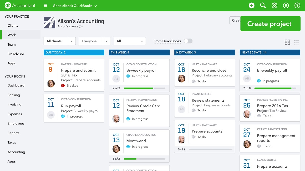 Welcome to QuickBooks Online Accountant