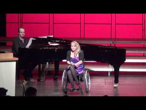Jeannine Nowicki begleitet von Christoph Spengler. Remscheid / 2012