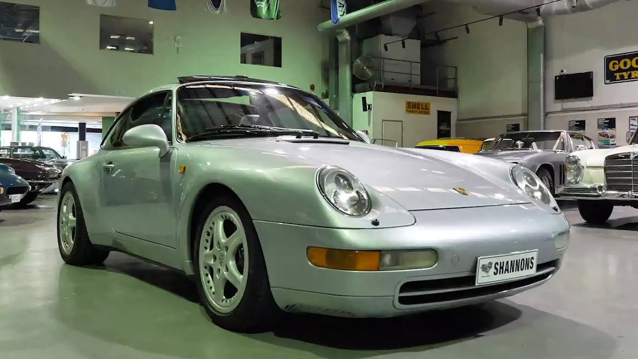 1996 Porsche 911 (993) 'Targa' Coupe -  2020 Shannons Autumn Timed Online Auction