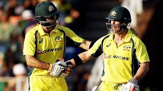 Warner and Maxwell in record T20 stand as Australia beat South Africa