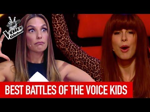 The Voice Kids | BEST BATTLES from around the world [PART 2]