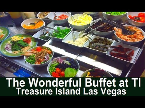Treasure Island Buffet Review