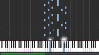 Star Trek Into Darkness - London Calling 30% speed piano tutorial