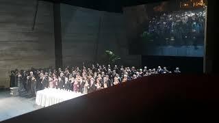 Смотреть видео Россия Федерациясининг Москва шахрида (Большой театр)катта театр онлайн