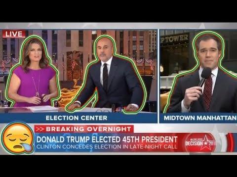 The morning after Trump wins! *{media SHOCK + HORROR on Nov. 9}*