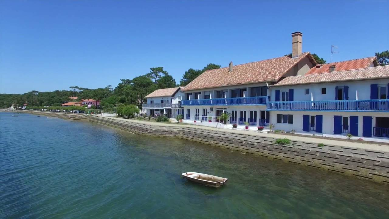 Hotel le relais du lac soorts hossegor youtube for Appart hotel hossegor