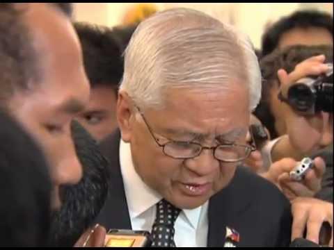 Sec. Albert Del Rosario on Pres. Aquino's Statement at the 7th East Asia Summit 11/20/2012