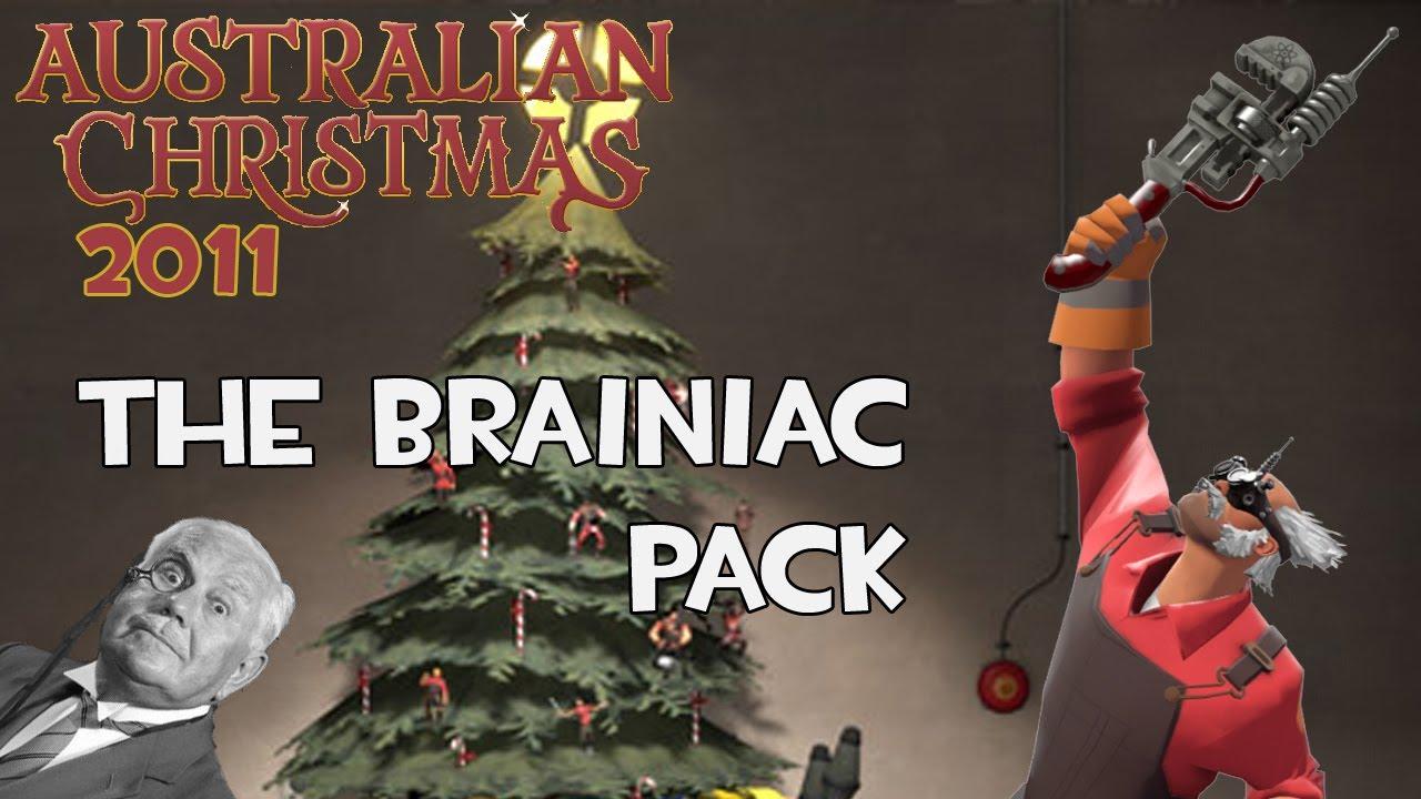 Tf2 Christmas Update 2020 TF2 Australian Christmas Update 2011   The Brainiac Pack!   YouTube