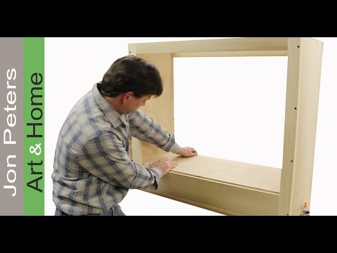 How To Build a Small Cabinet - TV Lift System - YouTube
