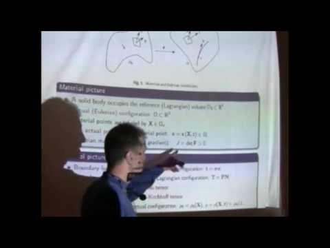 "Prof. Jean-Francois Ganghoffer - ""Symmetry analysis and conservation laws"""
