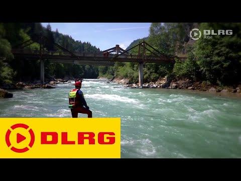 Die DLRG Strömungsretter - Bereit für den Notfall im reißenden Fluss