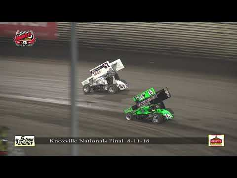 Knoxville Nationals Highlights Night #4 - August 11, 2018