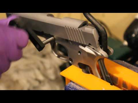 80% 1911 Build - Part 9: Cutting Barrel Lugs and Fitting Barrel to Frame