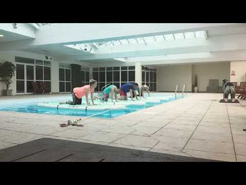 SUP Yoga Indoor 28 April 2018