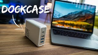 Turn your MacBook Pro Charger into a Dock!