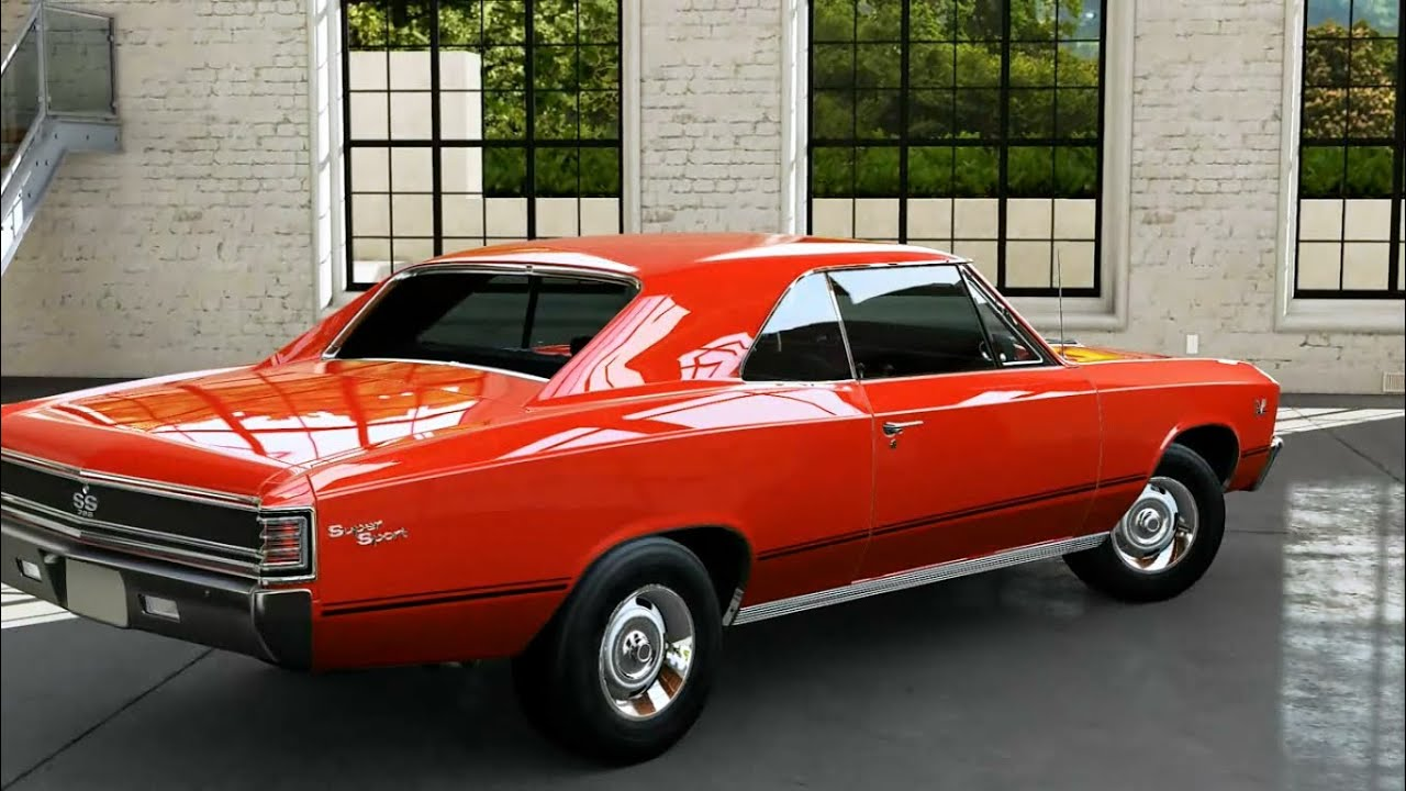 1967 chevrolet chevelle ss 396 2 door hardtop front 3 4 44313 - 67 Chevrolet Chevelle Ss Restoration Ground Up Autosports Nc
